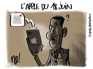 L'Apple du 18 juin