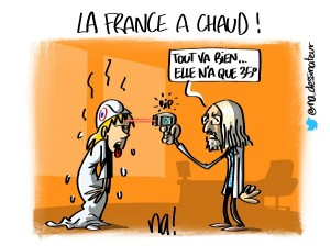La France a chaud