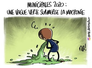 Municipales 2020 : une vague verte submerge la macronie