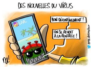 Des nouvelles du virus