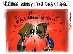Héritage Johnny, tout semblait réglé…