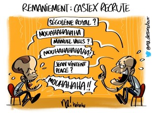 Remaniement, Castex recrute