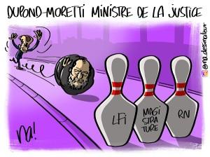 Dupond-Moretti ministre de la justice