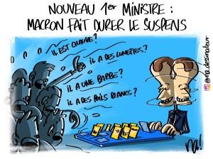 Nouveau 1er ministre, Macron aura fait durer le suspens