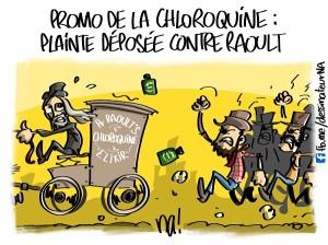 Promo chloroquine, plainte déposée contre Raoult