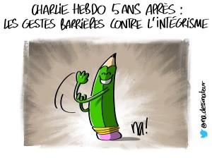 Charlie 5 ans après, les gestes barrières contre l'intégrisme