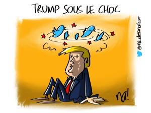 Trump sous le choc