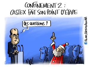 Confinement 2, Castex fait son point d'étape