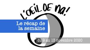 le récap dynamique des dessins de la semaine du 9 au 13/11 2020