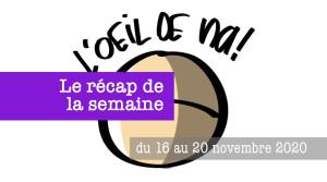 le récap dynamique des dessins de la semaine du 16 au 20-11-2020
