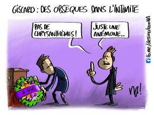 Giscard, des obsèques dans l'intimité