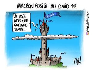 Macron positif au covid-19