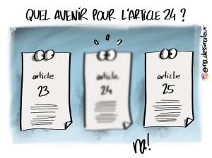 Quel avenir pour l'article 24 ?