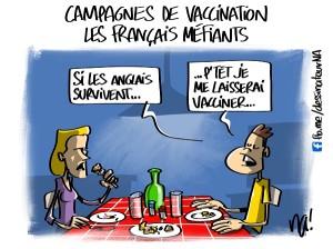 Campagnes de vaccination, les Français méfiants