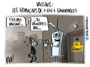 Vaccins, les Français de plus en plus favorables