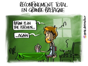 Reconfinement total en Grande-Bretagne
