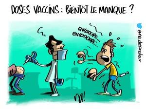 Doses vaccins : bientôt le manque ?