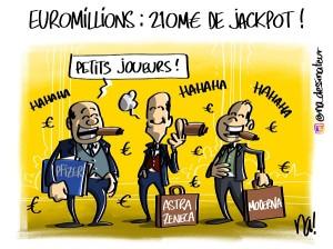 Euromillions, 210M€ de jackpot !