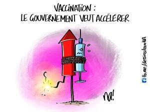 Vaccination, le gouvernement veut accélérer