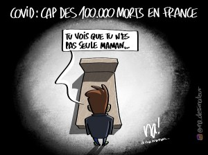 covid, cap des 100.000 morts en France
