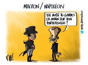 Macron / Napoléon