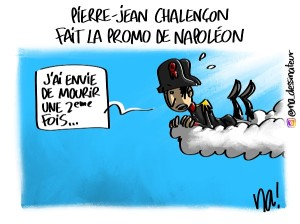 Pierre-Jean Chalençon fait la promo de Napoléon
