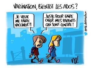 Vaccination, bientôt les ados ?
