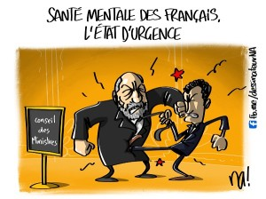 Santé mentale des Français, l'état d'urgence
