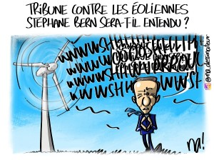 Tribune contre les éoliennes, Stéphane Bern sera-t-il entendu ?