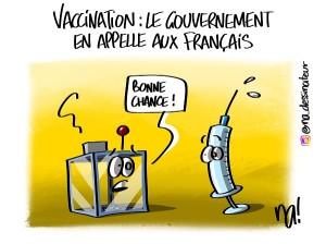 Vaccination, le gouvernement en appelle aux Français