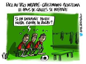 Face au trio Mbappé Griezmann Benzema, le Pays de Galles se prépare