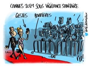 Cannes 2021 sous vigilance sanitaire