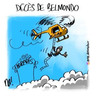 Décès de Belmondo