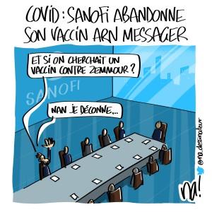 Covid, Sanofi abandonne son vaccin arn messager