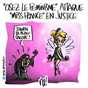 «Osez le féminisme» attaque «miss France» en justice