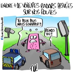 Encore plus de voitures radars privées sur nos routes