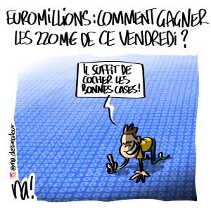 Euromillions : comment gagner les 220M€ de ce vendredi ?